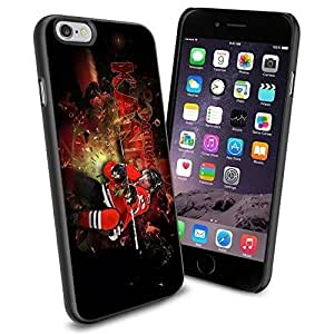 NHL Chicago Blackhawks Patrick Kane, Cool iPhone 6 Case Cover Collector iPhone TPU Rubber Case Black