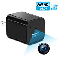 Supoggy 1080P Wall Charger Mini Hidden Spy Camera with Video Record and Motion Detection
