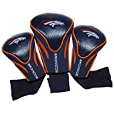 NFL Denver Broncos 3 Pack Contour Head Covers