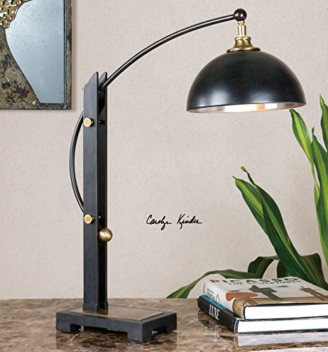 Uttermost 29587-1 Malcolm Oil Rubbed Bronze Desk Lamp by Uttermost (Image #1)