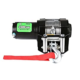 Offroad Boar 3500Lbs Electric Winch for ATV/UTV Boat (Stainless Steel)