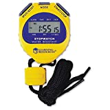 Encourage kids to practice telling and measuring time with this easy-to-read, child-friendly stopwatch. Children will love tracking their speed at running and other activities. Ideal for accurately keeping time in all sports. Includes split-time func...