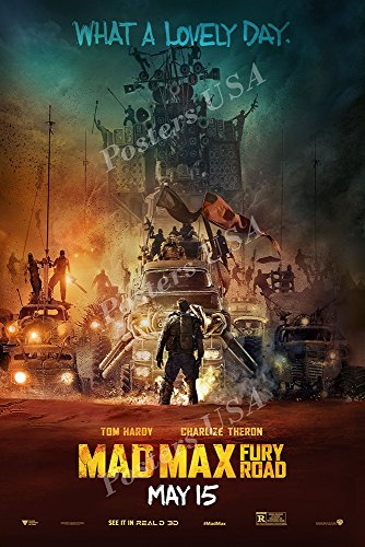 """Posters USA - Mad Max Garfield A Tail of Two Kitties Movie Poster GLOSSY FINISH - MOV415 (24"""" x 36"""" (61cm x 91.5cm))"""