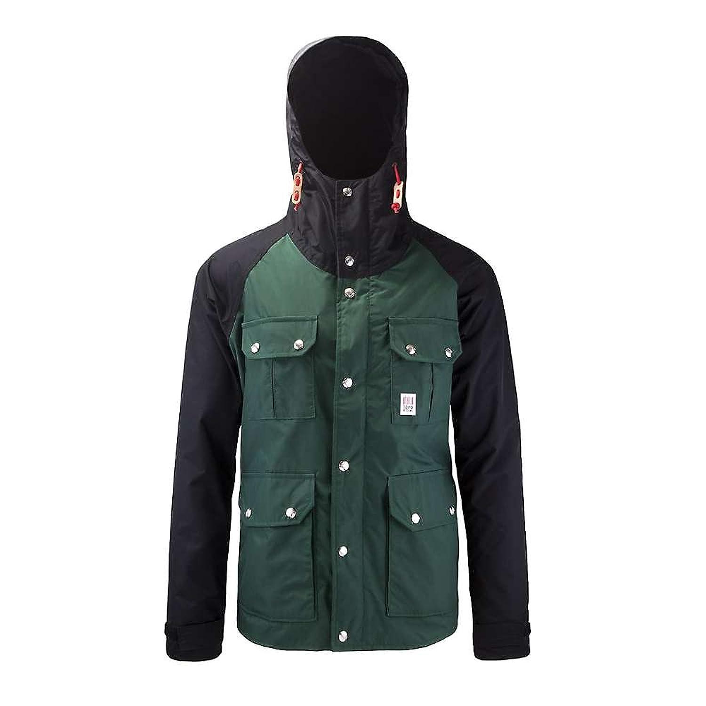 トポデザイン アウター ジャケットブルゾン Topo Designs Men's Mountain Jacket Forest / B cn9 [並行輸入品] B079G4X28B Medium