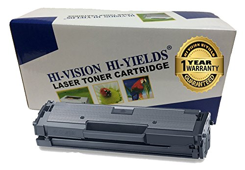 HI-VISION HI-YIELDS Compatible Toner Cartridge Replacement for Samsung MLT-D111S ( Black , 1 pk )