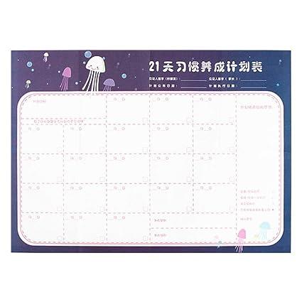 Calendario Per Appunti.Calendario Da Parete 2019 365 Giorni Per Ufficio Scuola
