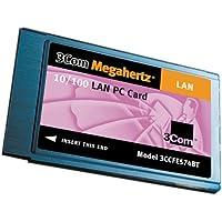 3Com 3CCFE574BT Megahertz 10/100 LAN PC Card