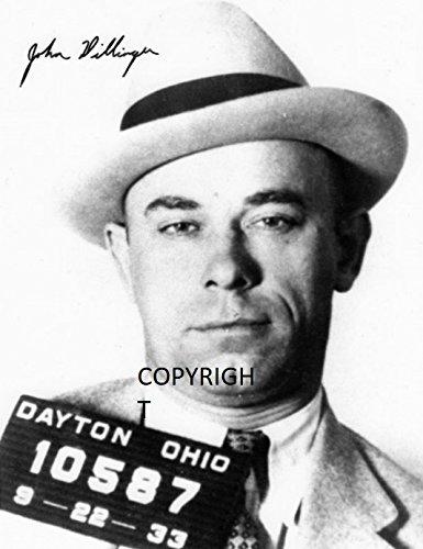 Limited Edition John Dillinger unterzeichnet Foto Autogramm signiertsigniertes THEPRINTSHOP