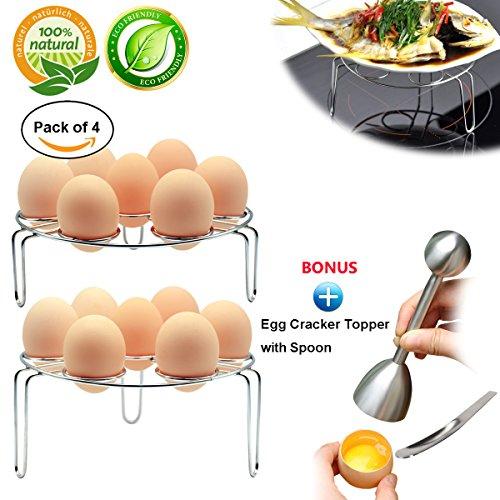 Easy Egg Cracker / Egg Separator - 8