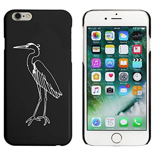 Noir 'Héron' étui / housse pour iPhone 6 & 6s (MC00052517)