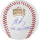 #7: Anthony Rizzo Chicago Cubs 2016 MLB World Series Champions Autographed World Series Logo Baseball with 2016 WS Champs Inscription - Fanatics Authentic Certified