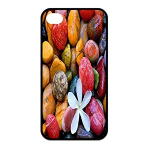 Customized Colorful Stones TPU Case for iPhone 4/4S
