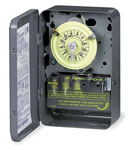 INTERMATIC T103 DPST ELECTROMECHANICAL TIMER SWITCH