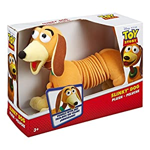 51ABRWR0cuL. SS300  - Disney Pixar Toy Story Plush Slinky Dog