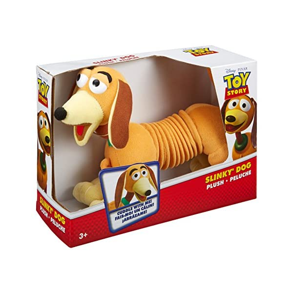 51ABRWR0cuL. SS600  - Disney Pixar Toy Story Plush Slinky Dog