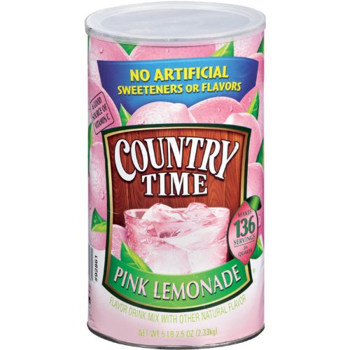 Country Time Pink Lemonade 5lb 2.5oz by Country Time