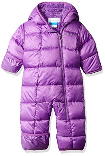 Columbia Baby Girls' Frosty Freeze Bunting, Crown Jewel Snowflake Emboss, 12-18 Months