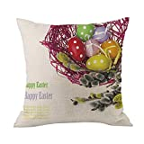 Best Place to Buy Mattress Topper iYBUIA Easter Decorations Clearance Sofa Bed Home Decoration Festival Pillow Case Cushion Cover