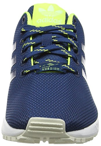 Low Unisex adidas Blau Top ZX Yellow Shadow Solar Blue Halo Flux Erwachsene wIZqnZdA