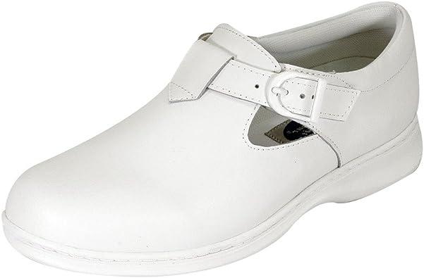 24 Hour Comfort Cara Women Wide Width Adjustable Buckle Step in Mary Jane Comfortable Shoe
