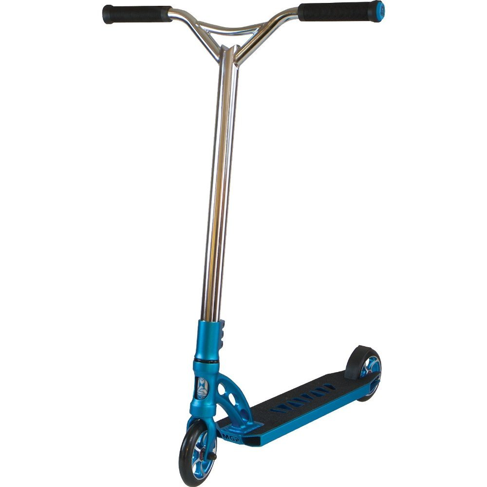 Madd Gear MGP VX5 Extreme Scooter in Blue & Chrome -Brand New- 2015