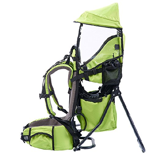 Olizee Foldable Outdoor Baby Kids Toddler Backpack Carrier