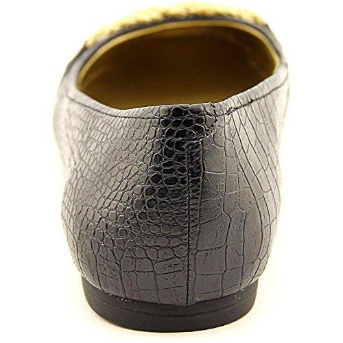punta American ballet Womens cerrada Croc Living Black con donica zapatillas de SU7SBw
