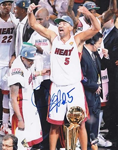 JUWAN HOWARD MIAMI HEAT CHAMPIONSHIP SIGNED AUTOGRAPHED 8X10 PHOTO W/COA