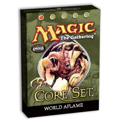 Magic the Gathering MTG 9th Edition Core Set World Aflame Theme Deck (Core Set Theme Deck)