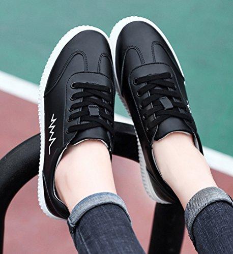 Las Zapatillas Zapatos Negro Primavera otoño 35 de Zapatillas Deporte de Casuales Deporte Mujeres tamaño Deporte de Color de Zapatos de Verano S1q1trw
