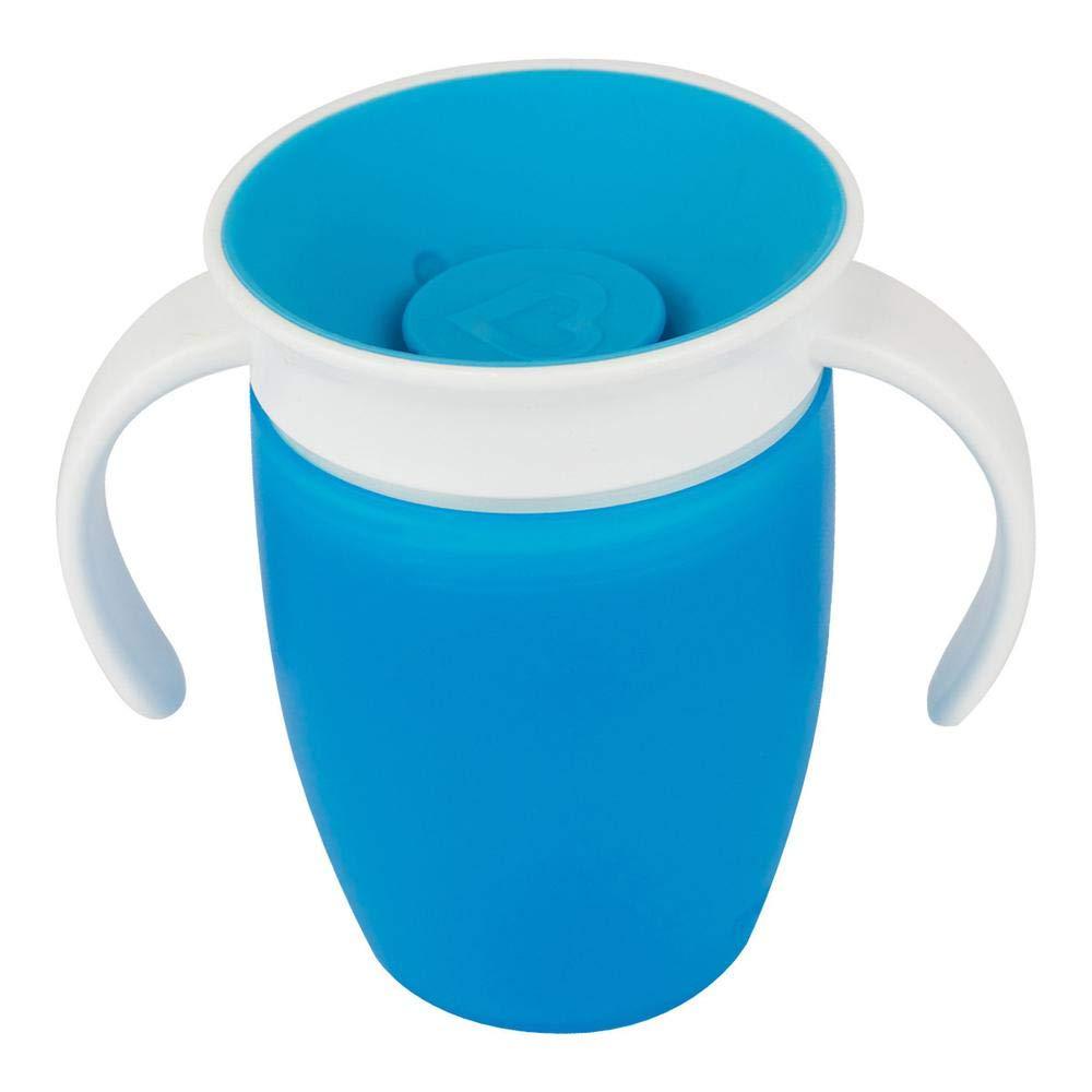 207 ml Munchkin Miracle 360ᵒ Trinklernbecher mit Griffen blau auslaufsicher ab 6 Monaten