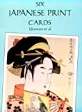 Six Japanese Print Postcards, Utamaro and Frances A. Davis, 0486279693
