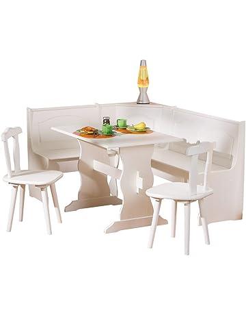 Tavolo Con Panca Angolare Moderno.Amazon It Panche Ad Angolo Casa E Cucina
