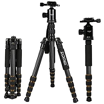 Zomei Professinal Magnesium Aluminium Tripod with Ball Head Pocket Travel for DSLR from Zomei