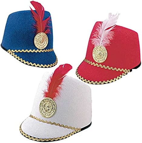 Sombrero M/úsico Fieltro Azul