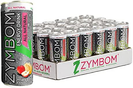 ZYMBOM All- Natural ENERGY DRINK, 8.4 Ounce, Pack of 24, Developed by Dr. Daniel Frank, M.D, MBA. ($24.00 case)