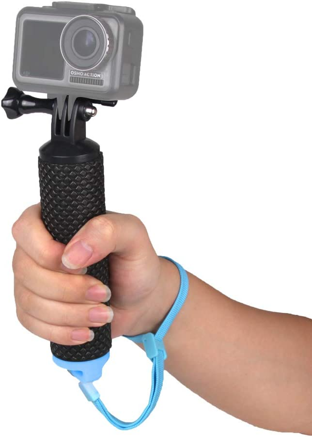 O'woda Waterproof Floating Hand Grip Handle Diving Monopod Accessories for DJI OSMO Action Camera