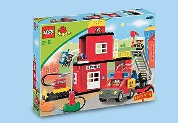 Lego Duplo 4664 Ville Feuerwehr Hauptquartier Amazonde Spielzeug