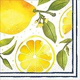 "Lemons Luncheon Party Napkins, 6.5"" x 6.5"", 16 Ct."