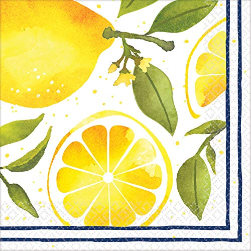 Stumps Lemons Luncheon Napkins