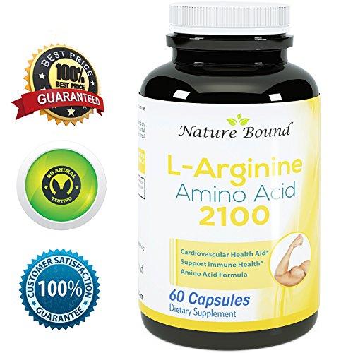 ★ 100% Pure L-аргинин ★ Премиум Аминокислоты Формула для Pre-Work Out - Поддержка окиси азота ★ 1000 мг За капсул - гарантируется природы, связанные