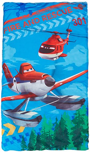 Fun Camping Activities Kids And Adults Will Love Disney Pixar Planes Fire and Rescue Slumber Bag