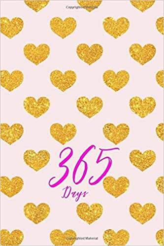 Amazon com: 365 Days: Blank 365 Page Notebook : One Year Journal