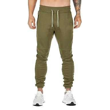 Poachers Pantalones de Hombre Slim Pantalones de Hombre de ...