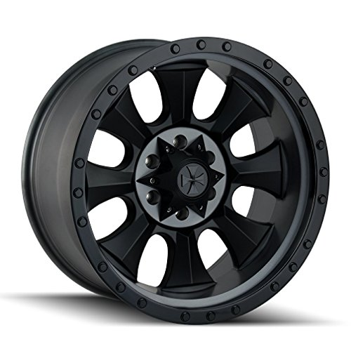 "Dirty Life Matte Black/Black Beadlock Wheel with Painted Finish (18x9""/8x170mm)"
