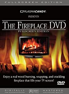 amazon com fireplace dvd real wood burning fire