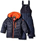 Osh Kosh Little Boys' Snowsuit With Puffer Coat, Navy, 7
