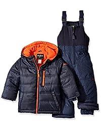 Osh Kosh Boys' Snowsuit With Puffer Coat