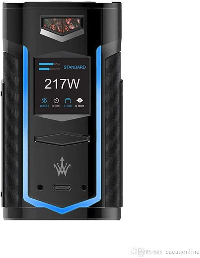 VOOPOO X217 TC Box Mod 217W Vape Mod Cigarrillo electrónico Luz LED Mod 100% Auténtica Mod (P-Scarlet-): Amazon.es: Salud y cuidado personal