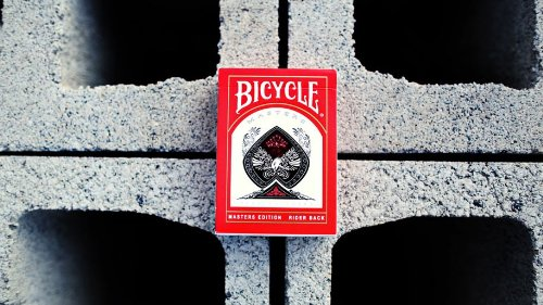 Ellusionist Bicycle Masters Edition - Red